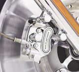 Chrome Front Caliper Kit