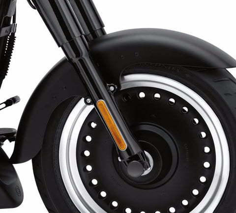 Gloss Black Lower Fork Sliders for FL Softail® Models