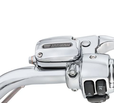 Chrome Clutch Bracket and Master Cylinder Reservoir Kit