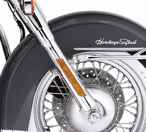 Chrome Lower Fork Sliders for FL Softail® Models '00-'06