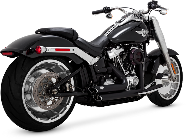 Vance & Hines Shortshots Staggered Exhaust - Black