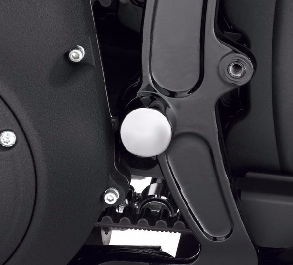 Swingarm Pivot Bolt Cover Kits - Chrome Billet