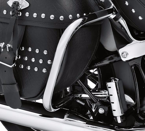 Chrome Rear Saddlebag Guard Softail