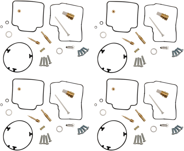 Parts Unlimited Carburetor Kit Honda VFR750F