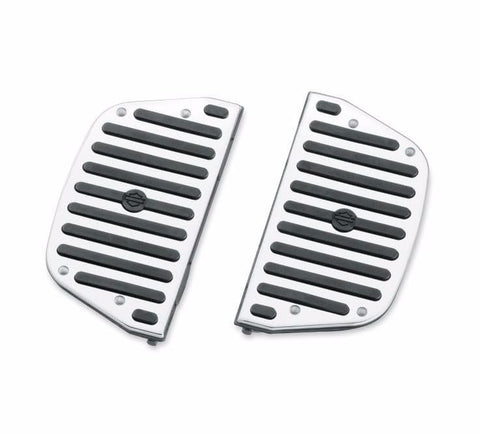 Chrome and Rubber Collection Passenger Footboard Inserts