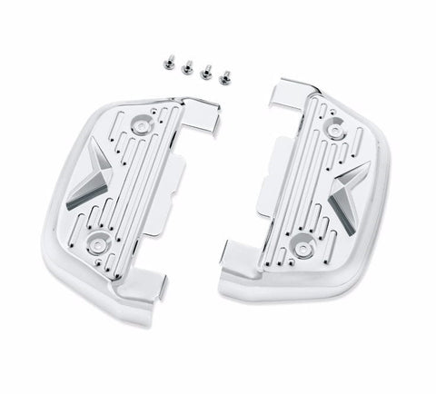 V-Logo Passenger Footboard Covers