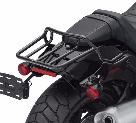 HoldFast Two-Up Luggage Rack - Gloss Black