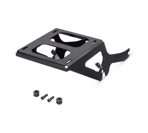 HoldFast Two-Up Tour-Pak Mounting Rack - Gloss Black