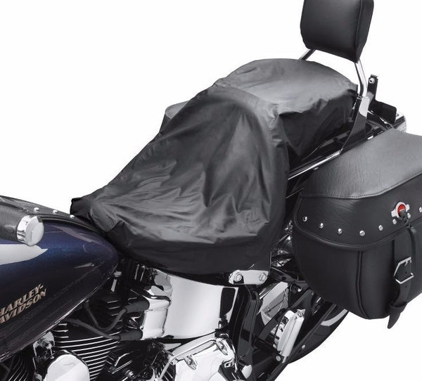 harley davidson touring seat rain cover shop utah harley. Black Bedroom Furniture Sets. Home Design Ideas