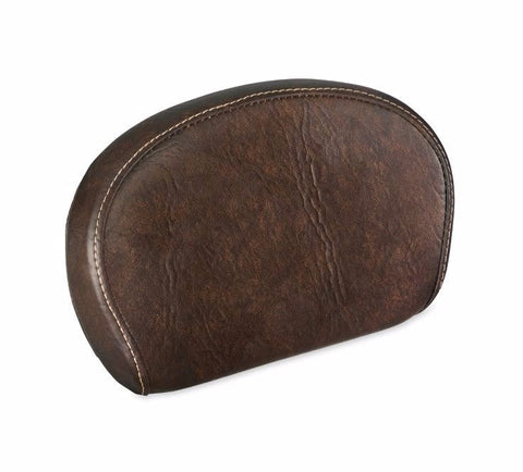 Short Passenger Backrest Pad-Mahogany Brown
