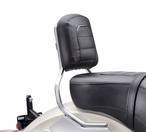 Passenger Backrest Pad - Mid-Sized - Low Rider Styling
