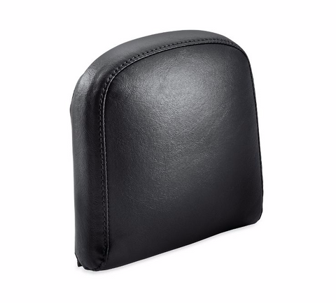 Passenger Backrest Pad - Mid-Sized - Smooth Black Vinyl