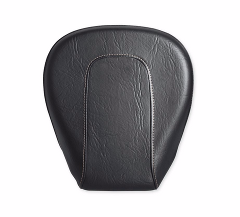 Low-Profile Passenger Pillion – Black Diamond w/Toast Stitching