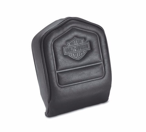 Low Backrest Pad - Embossed Bar & Shield Logo