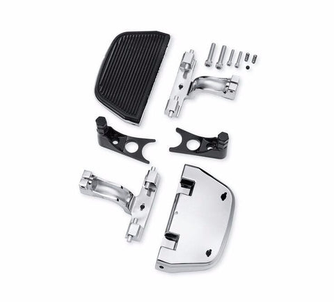 Chrome Softail® Passenger Footboard and Mount Kit