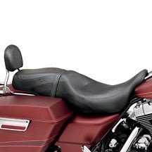Leather Low-Profile Bucket Seat '97-'07 Road king and FLHX