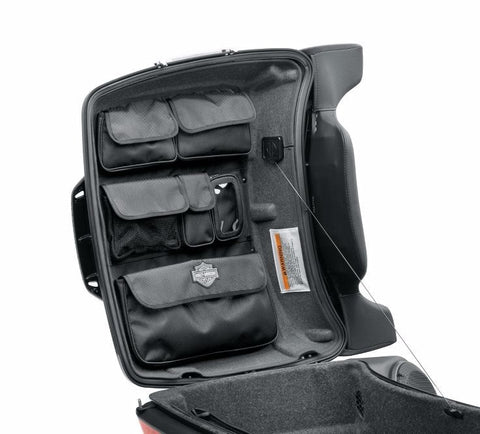 Tour-Pak Lid Fitted Lining with Organizer - Gray