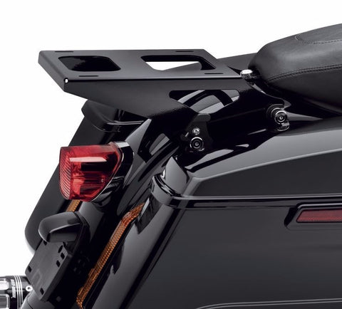 H-D Detachables Two-Up Tour-Pak Mounting Rack - Gloss Black