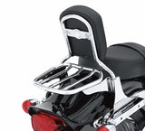 Custom Tapered Sport Luggage Rack - Chrome