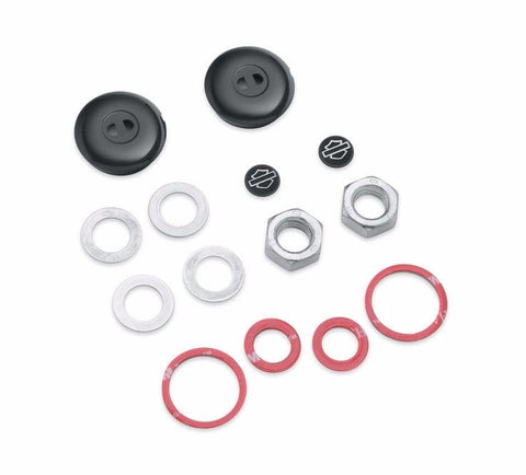 Shock Bolt Cover Kit - Gloss Black