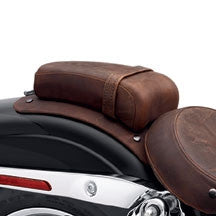 Passenger Pillion - Distressed Brown Leather Dyna Models