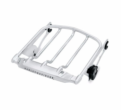 Air Wing Detachable Two-Up Luggage Rack - Chrome