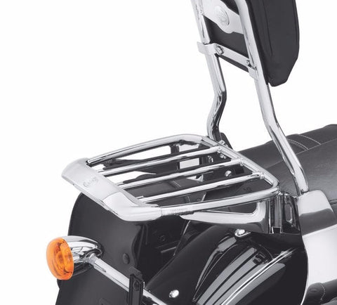 Air Foil Premium Luggage Rack with Rubber Grip Strips Chrome