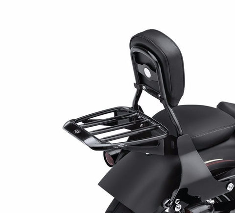 Air Foil Premium Luggage Rack with Rubber Grip Strips Gloss Black