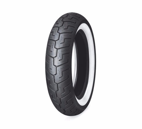 "Dunlop® Harley-Davidson® Tire Series - D401 150/80B16 Wide Whitewall - 16"" Rear"