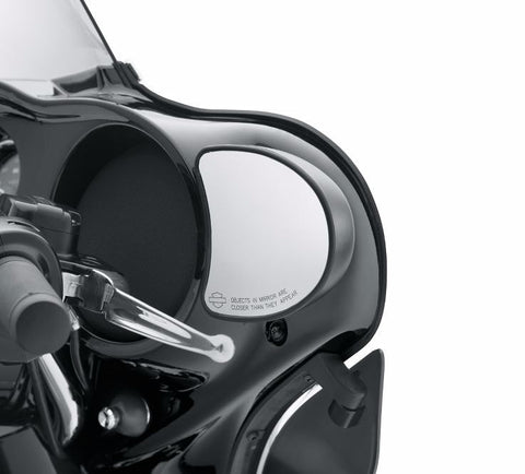 Fairing Mount Mirrors - Black