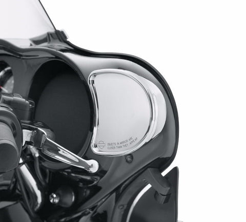Fairing Mount Mirrors - Chrome