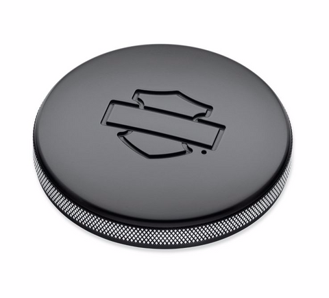 Diamond Black Left Side Fuel Tank Cap