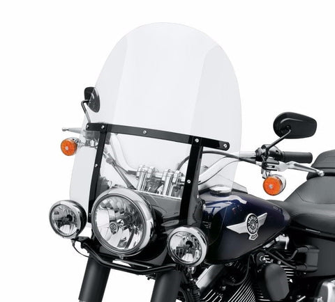 King-Size Detachable Windshield for FL Softail® Models with Auxiliary Lighting