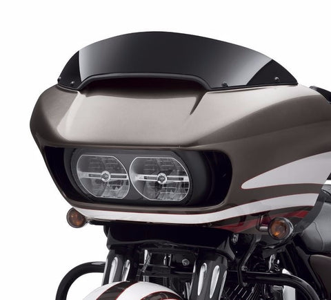 "Road Glide Contoured Wind Deflector - 6"" Black"