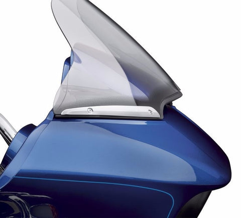 Road Glide Split Windshield Trim - Chrome