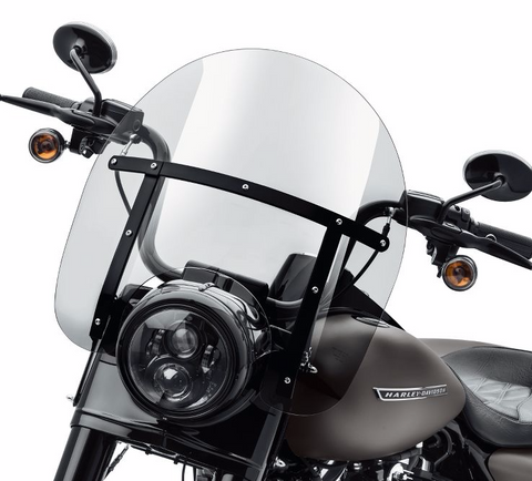 Road King H-D Detachables Windshield - 16 in.