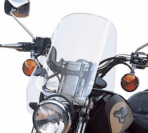 "Sport Windshield Kit - 17"" Light Smoke"