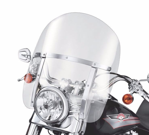 Detachable King-Size Windshield for FL Softail® Models Smoke