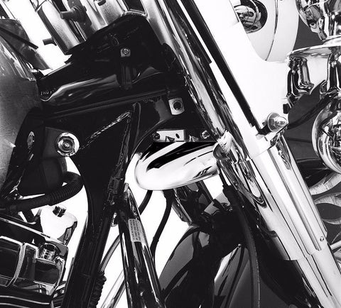 Chrome Front Fork Air Baffle