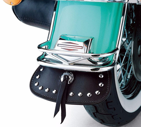 Heritage Softail Classic Rear Fender Leather Mud Flap