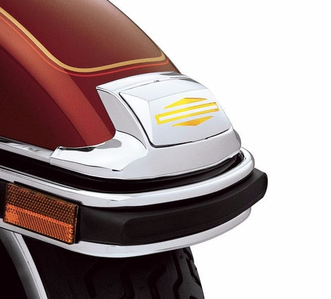 Bar & Shield Logo Chrome Fender Tip Lens Kit