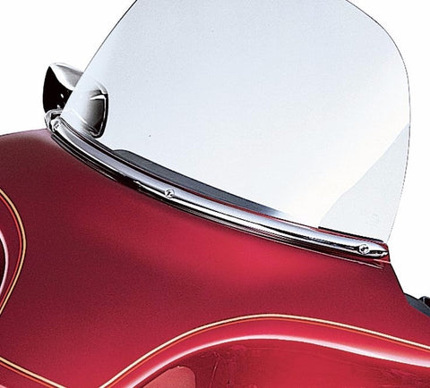 Chrome Windshield Molding for Electra Glide Models
