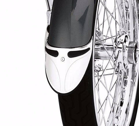Chrome Front Fender Extension