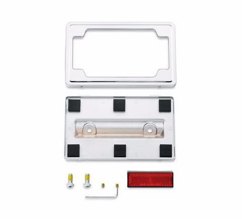 Framed Layback License Plate Mounting Kit Touring