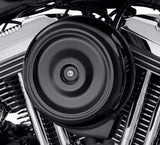 Bobber-Style Round Air Cleaner Cover - Gloss Black