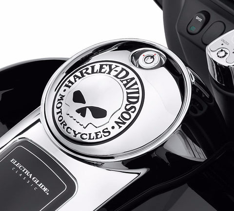 Willie G.® Skull Collection Fuel Console Door - '92 to '07