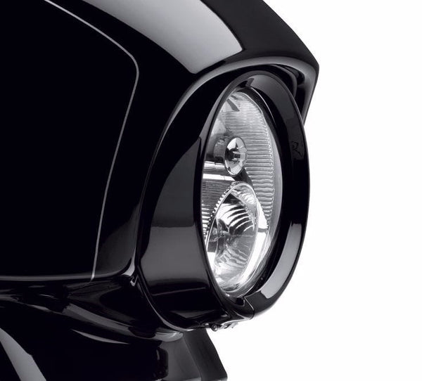 "Trim Ring Collection - Gloss Black 7"" Headlamp"