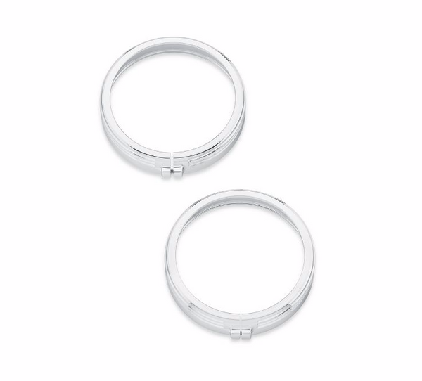 4 in. Defiance Auxiliary Lamp Trim Rings