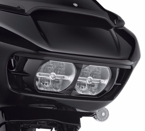 Road Glide Headlamp Trim - Gloss Black