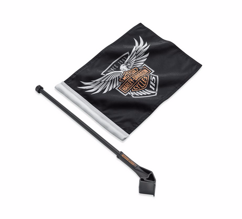 115th Anniversary Flag Kit - Tour-Pak/Saddlebag Mount